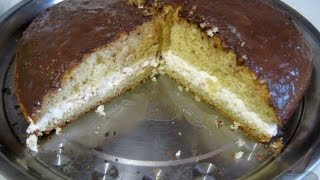 Торт на скорую руку  Пошаговый рецепт с фото