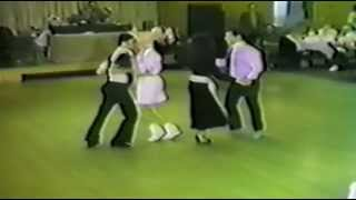 Traditional Tandem West Coast Swing (Bontemple, Shermoen, Sharlott, Shirley) 1987