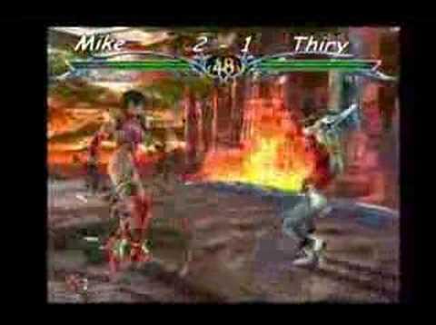 SC3 Mike (Cassandra) vs Thiry (Nightmare Yoshimitsu Ivy)