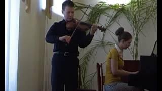 И.С.Бах Концерт ля минор, 1 часть
