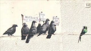 Banksy mural painted over by UK resort