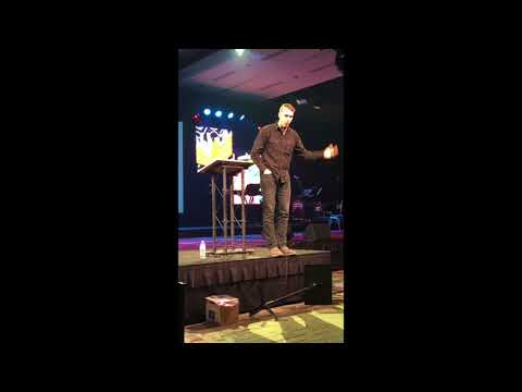 Mark Speaking at Cru Christmas Conference