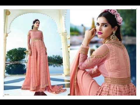 Modern New Arrivals Fashionable Women Long Anarkali suits  dress