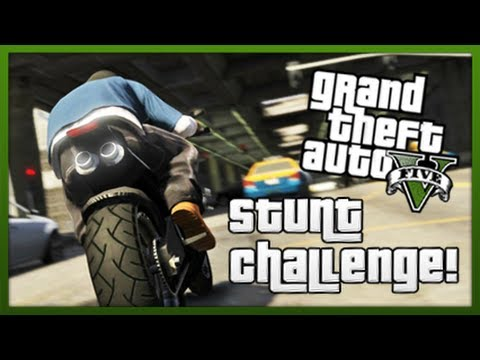 GTA 5: Stunt Challenge! - Episode 2 (GTA V Stunts & Tricks)