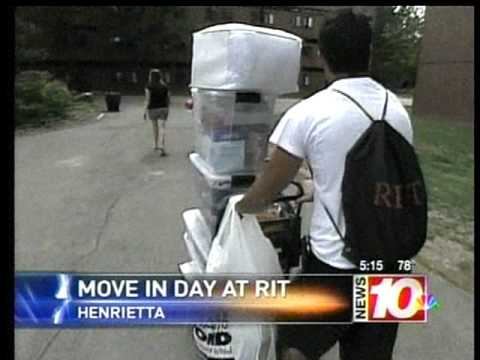 RIT on TV: Move-in Day