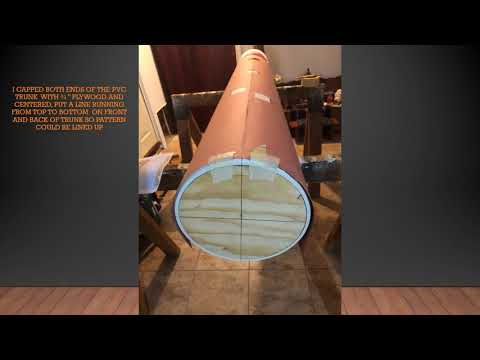 Pvc mook jong(Wooden Dummy) Project