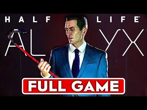 HALF LIFE ALYX Gameplay Walkthrough Part 1 FULL GAME [1080p 60FPS VR Valve Index] - No Commentary