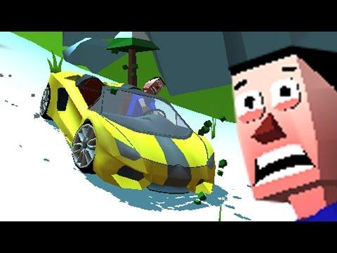 Мультфильм про Машинки.Машинка без тормозов. Faily Brakes. Игры для мальчиков.