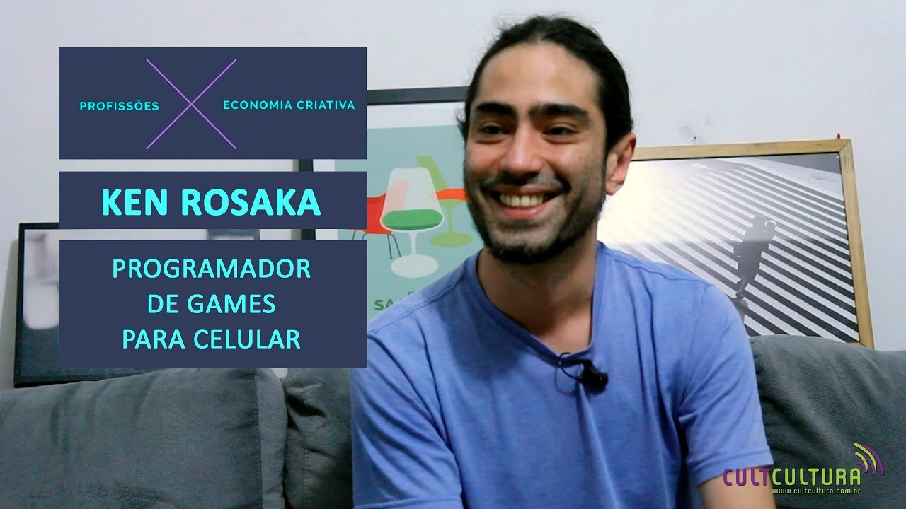 Conheça o trabalho de um programador, com Ken Rosaka