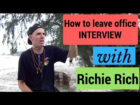 Interview - How to leave office with Richie Rich | Koh Rong | Cambodia