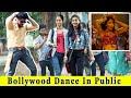 Bollywood Dance In Public (Dilbar,Prem Ratan Dhan Payo,Khalibali) Ft. TCI