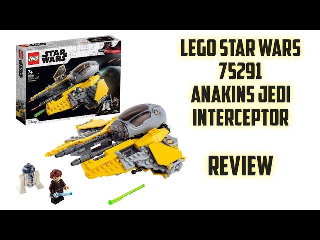 Lego Star Wars 75281 - Anakins Jedi Interceptor / Review [German]