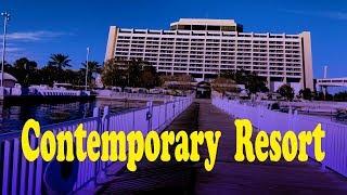 Disney's Contemporary Resort Walking Tour