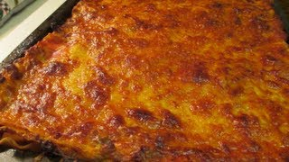 Beef Lasagna Recipe : How I Prepare, And Make Lasagna