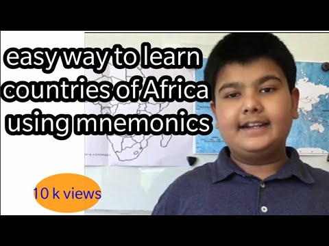 Countries of Africa easy way to learn