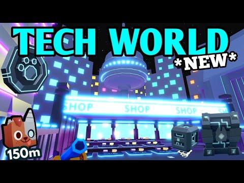 OMG *NEW* TECH WORLD LEAKS in Pet Simulator X