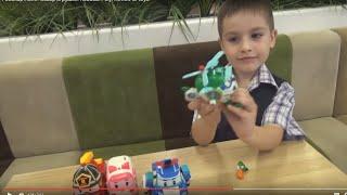 Робокар Поли. Обзор игрушек.  Robocar Poly. Review of toys.