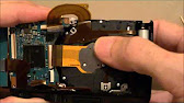 How To Take Apart A Sony Cyber-shot DSC-W350 - YouTube