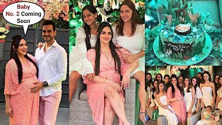 Esha Deol Baby Shower Video Of Her Second Baby