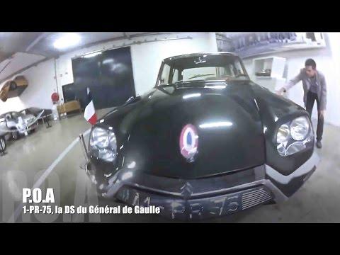 Citroën DS 1-PR-75 : montez à bord de la DS du Général de Gaulle (5/5)