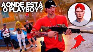 GTA V: VIDA DO CRIME | VEM BOMBA PELA FRENTE!!💣 MEU IRMÃO PLAYBOY SUMIU E CORRE PERIGO!! | EP#16