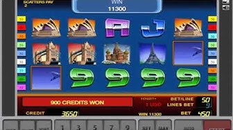 Free Spin And Biggest Win - First Class Traveller Slot