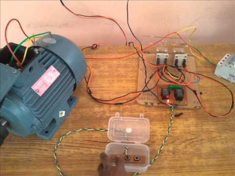 110v Motor Starter Wiring Diagram 3phase Motor Forward Reverse Youtube