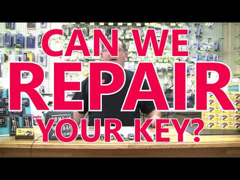 Can We Repair Your Car Key?