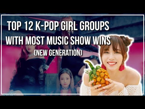 Top 12 K-Pop Girl Groups with the Most...
