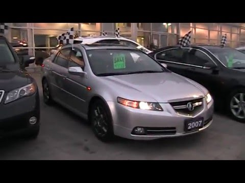 2007 Acura Tl Type S Navigation >> 2007 Acura TL Type-S Startup Engine & In Depth Tour - YouTube