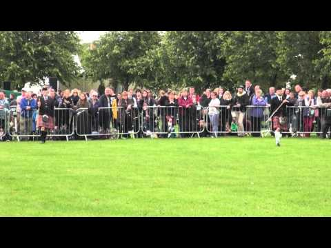 WORLD PIPE BAND CHAMPIONSHIPS 2015_Open Drum Majors FINAL (1st heat)