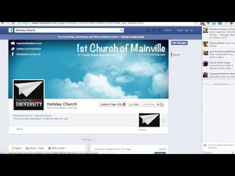 How to Setup a Great Church Facebook Page