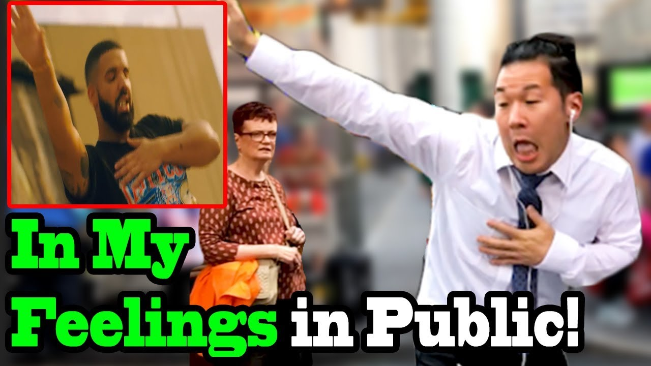 "***** Drake - ""in My Feelings"" Dance (kiki Challenge In Public!!) - Shiggy Challenge *****"