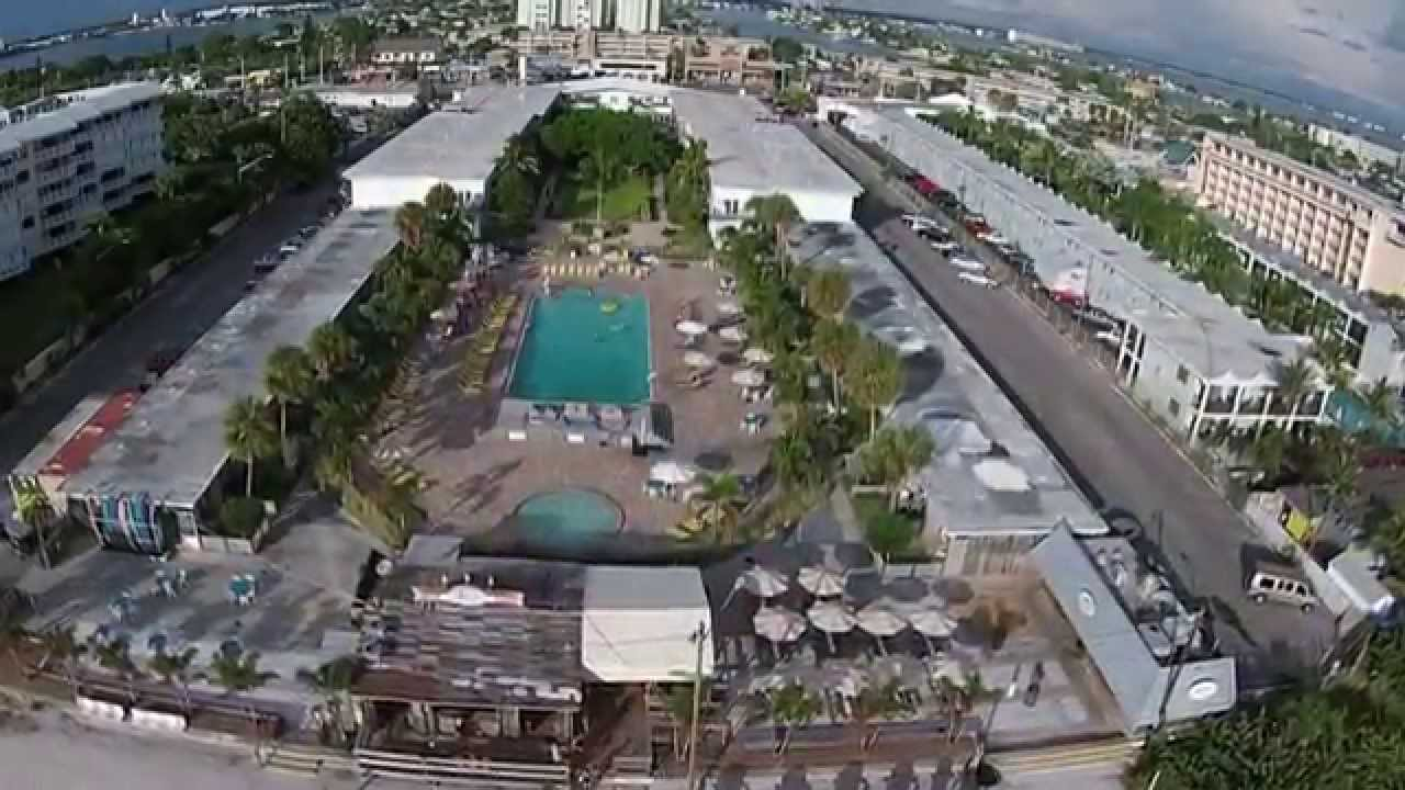 Aerial Video Of Postcard Inn St Pete Beach Florida