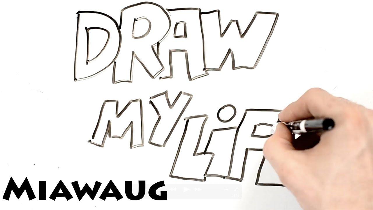 Draw My Life Miawaug Indonesia Youtuber Youtube