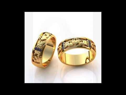 красивые обручальные кольца (Wunderschöne Trauringe)
