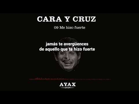 AYAX- ME HIZO FUERTE (LETRA) (PROD. EL M BEATS) #CARAYCRUZ