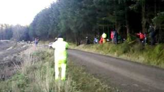 WALES RALLY GB 2010. RADNOR STAGE