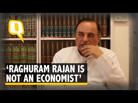 Raghuram Rajan Is Not An Economist: Subramanian Swamy