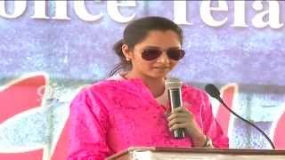 Sania Mirza Participates in