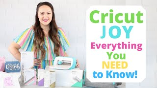 Everything You Need to Know About the Brand New Cricut Joy