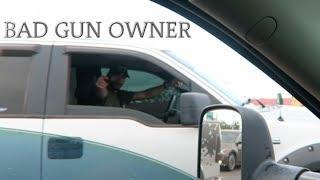 road rager pulls gun on us