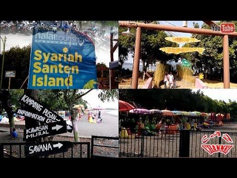 HALAL TOURISM - Cantiknya Pantai Syariah Pulau Santen Banyuwangi [April 2017]