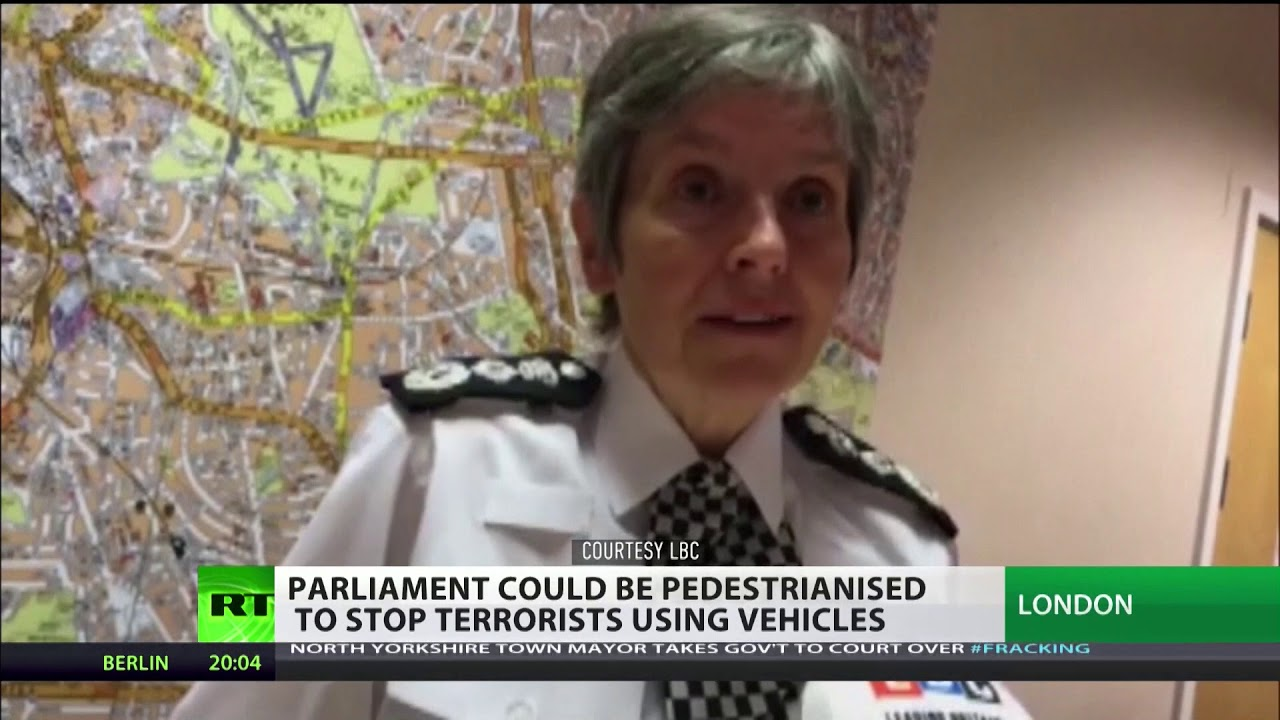 "MET Commissioner: ""Terrorists want us to be afraid, we're not going to give in"""