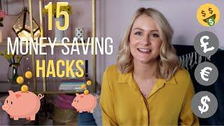 15 Money Saving Hacks and Tips No Buy Year 2019