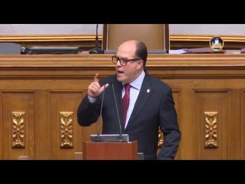 Discurso de Julio Borges en la Asamblea Nacional 05-Enero