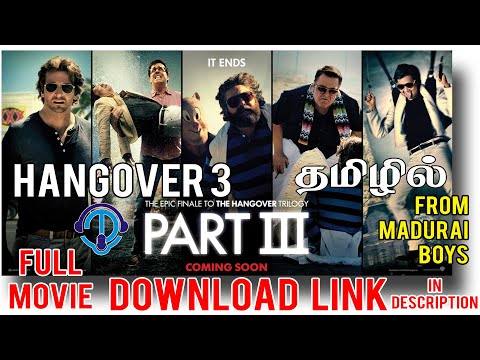 Hangover 3 Tamil | Full Movie Download Link In Description