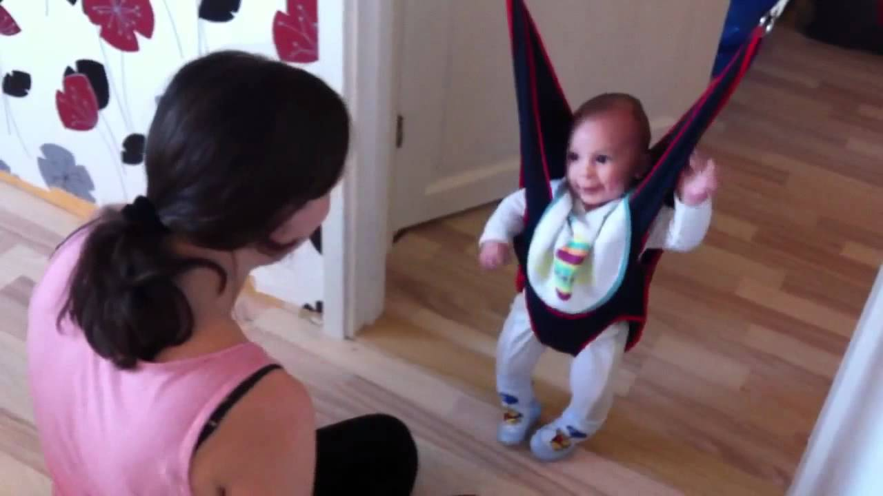 Funny Baby Jumping