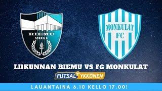 LIVE: Liikunnan Riemu vs FC Monkulat