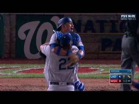 Kershaw fans Difo, Dodgers advance